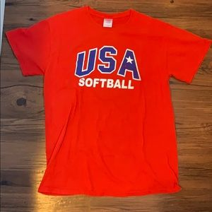 USA Softball Jennie Finch Gildan T-Shirt